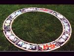 Garden ring. 4 foot cntre opening . each section is different