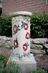 mosaic pedestal