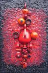 Red ceramic