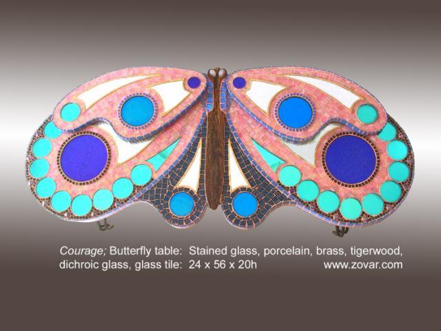 Butterfly Rose Blue