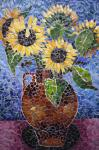 Sunflower in vase