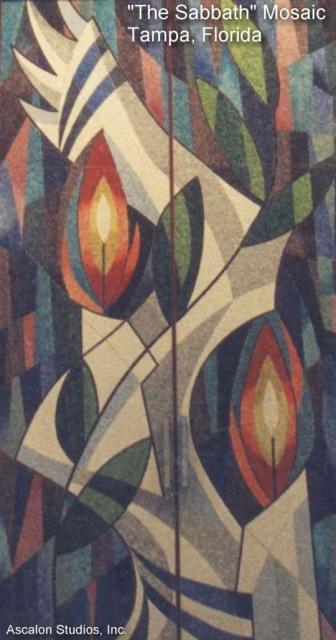 Ascalon Studios - Sabbath mosaic doors
